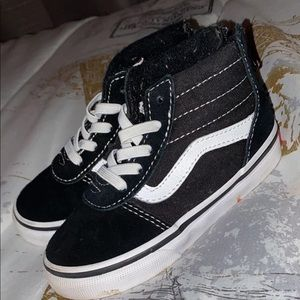 Black & White High Top Vans
